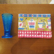 【お客様お取置き】カステヘルミ フラワーベース キャンドルホルダー& キッチンのテーブルランナー(1)