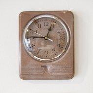 【お客様お取り置き】JUNGHANS/ユンハンス 陶製 ウォールクロック/壁掛け時計/ヴィンテージクロック