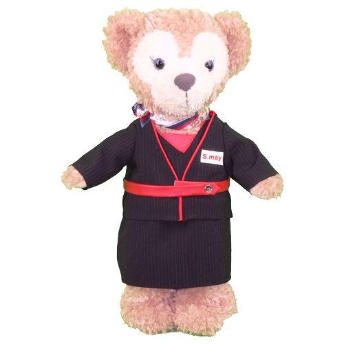 ダッフィー/S用 富士エアーラインのCAの制服ユニフォームのコスプレ衣装