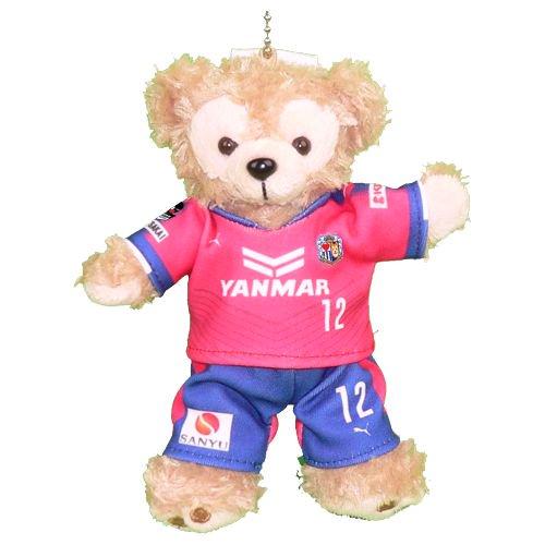 ダッフィー/ぬいバ用 大阪&堺のサッカーチームの 2017年版ピンクのユニフォームのコスプレ衣装 ※番号・ネーム指定可