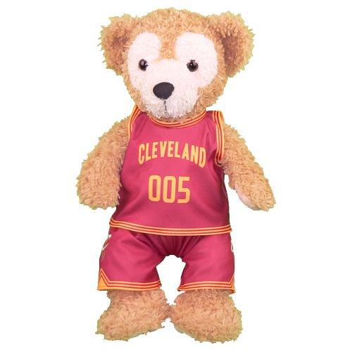 ダッフィー 服 Sサイズ  「黒子のバスケ」 LAST GAME 青峰大輝のアメリカのユニフォーム風 ダッフィーのコスプレ服 衣装 バスケットボール 番号ネーム指定可