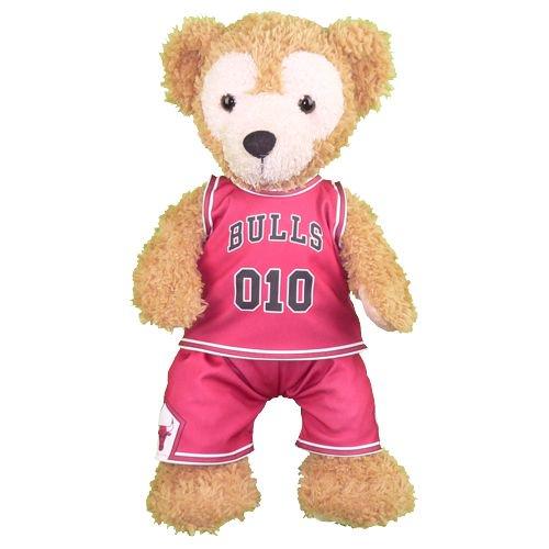 ダッフィー 服 Sサイズ 「黒子のバスケ」のLAST GAMEの火神大我のアメリカのユニフォーム風 ダッフィーのコスプレ服  衣装  バスケットボール 番号ネーム指定可