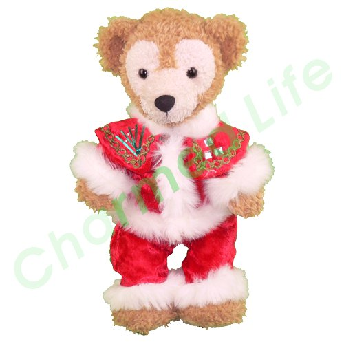 ダッフィー&シェリーメイ 衣装 Sサイズ 華やかなケープのサンタクロース クリスマス
