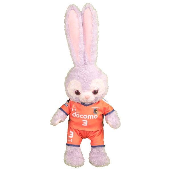 ステラ・ルー | S用 | 大宮のサッカーチームの2018年のオレンジのユニフォーム風ぬいぐるみのコスプレ衣装 | サッカー | ※番号・ネーム指定可