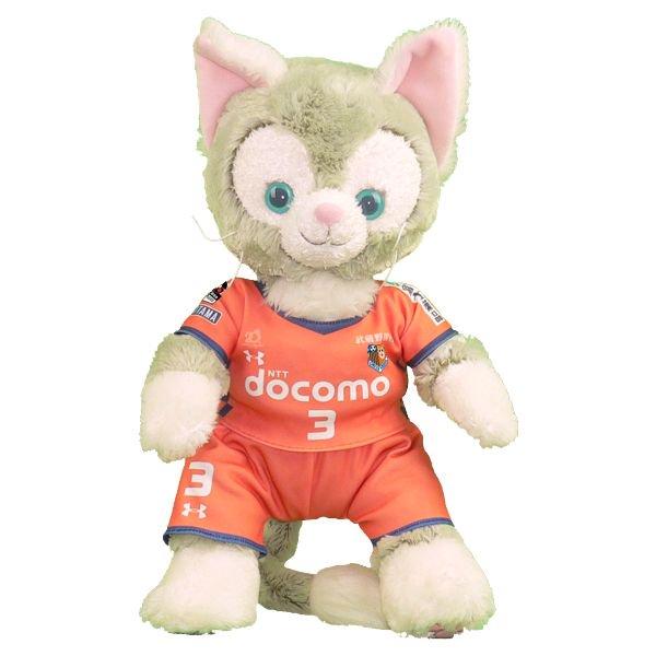 ジェラトーニ | S用 | 大宮のサッカーチームの2018年のオレンジのユニフォーム風ぬいぐるみのコスプレ衣装 | サッカー | ※番号・ネーム指定可