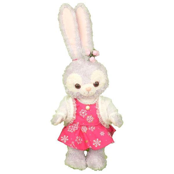 ステラ・ルー | S(座った高さ約43cm)用 | ピンクのウィンタードレス風のぬいぐるみの衣装