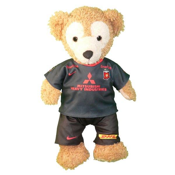 ダッフィー   S用   浦和のサッカーチームの2020年のユニフォーム風ぬいぐるみのコスプレ衣装   サッカー   ※番号・ネーム指定可