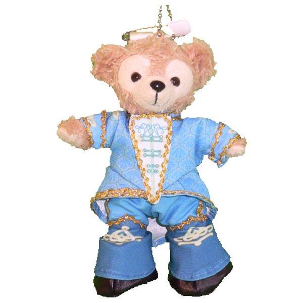 ダッフィー 服 ぬいバサイズ 水色のドリーミングアップ男性ダンサー風 ダッフィーのコスプレ服 衣装 TDL