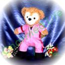 ダッフィー 服 Sサイズ ピンクのツナギ風 ダッフィーのコスプレ服  衣装  テゴマス手越 2ndライブ