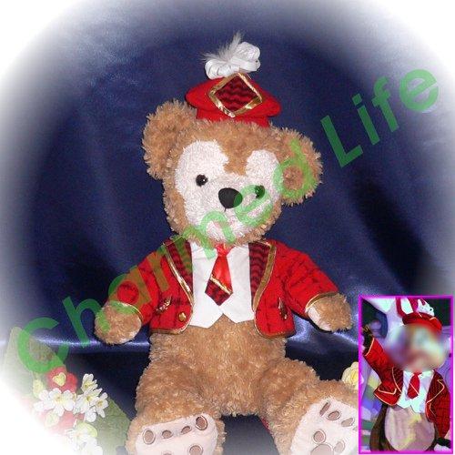 ダッフィー/S用 クリスマスジャケット風コスプレ衣装/クリスマス・ウィッシュ/チ○プ&デ○ル/デ○ズニー