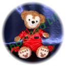 ダッフィー 服 Sサイズ 赤いジャケットセット風 ダッフィーのコスプレ服  衣装  北山 WORLD BIG TOUR