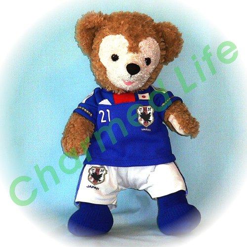 ダッフィー/S用 日本代表2011年のユニフォーム風コスプレ衣装/サッカー ※番号・ネーム指定可