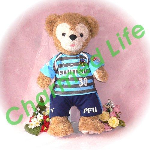ダッフィー(S) 川崎のサッカーチーム ユニフォーム2012風