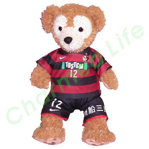 ダッフィー/S用 鹿島の2009年チームユニフォーム風コスプレ衣装/サッカー ※番号・ネーム指定可
