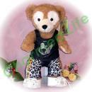 ダッフィー 服 Sサイズ 豹柄ズボンのセット風 ダッフィーのコスプレ服  衣装  チャン・グン クリショー2 アンコール K-POP
