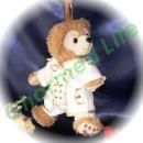 ダッフィー/ポーチ用 白のロングジャケット風コスプレ衣装/IN F○N○T○/K-POP