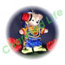 ダッフィー 服 ぬいバサイズ 兵隊風のツナギの ダッフィーのコスプレ服  衣装  増田 2ndライブ