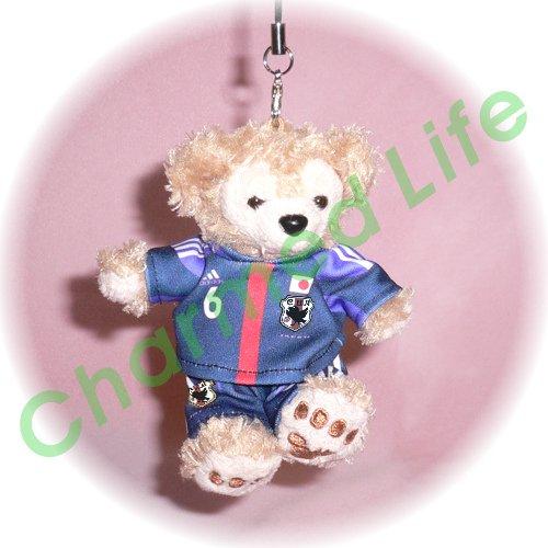 ダッフィー(ストラップ) サッカー 日本代表ユニフォーム2012
