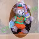 ダッフィー,TDS正規商品,ストラップ,かぼちゃ2010