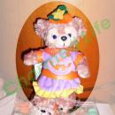 シェリーメイ,TDS正規商品,ぬいぐるみバッジ,かぼちゃ2010