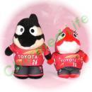 グランパスくん&グララちゃん 名古屋のサッカーチーム ユニフォーム2013(1st)風