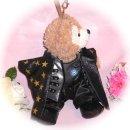 ダッフィー 服 ポーチサイズ 「FANTASTIC CHOSHINSEI」のグァンスさん風 ダッフィーのコスプレ服 衣装 超新星 K-POP