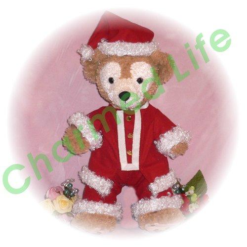 ダッフィー&シェリーメイ - S用 金ボタンのサンタクロース - クリスマス - その2