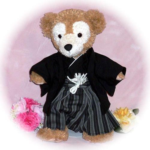 ダッフィー/S用 羽織と袴のセット風コスプレ衣装/ウェディング/ウェルカムドール