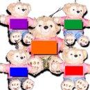 ダッフィー 服 ストラップサイズ 2013 ピンクのツアーTシャツセット ダッフィーのコスプレ服 衣装 5人組