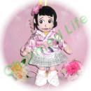 ももクロZ 玉井詩織人形 ももいろパンチ風 ぬいぐるみのオーダーメイドコスプレ服  衣装  衣装