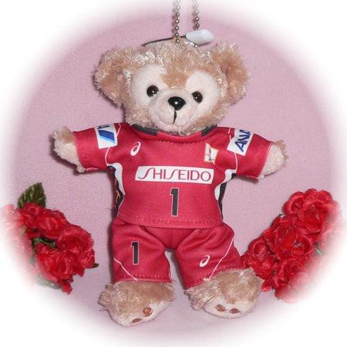 ダッフィー/ぬいバ用 日本代表のユニフォーム風コスプレ衣装/バレーボール ※番号・ネーム指定可