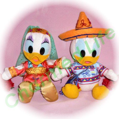 ドナルド&デイジー ディズニーシーの衣装風 ぬいぐるみのオーダーメイドコスプレ服  衣装