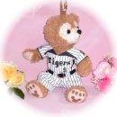 ダッフィー 服 ポーチサイズ 大阪の2014年チームユニフォーム風 ダッフィーのコスプレ服  衣装  野球 番号ネーム指定可