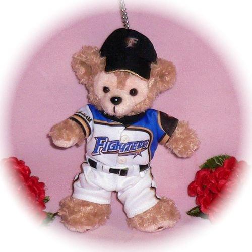 ダッフィー/ぬいバサイズ用 北海道の野球チームユニフォーム2014年風 衣装