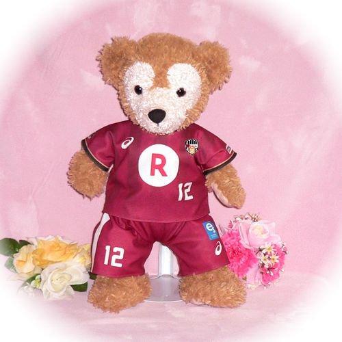 ダッフィー/S用 神戸の2015年チームユニフォーム風コスプレ衣装/サッカー ※番号・ネーム指定可
