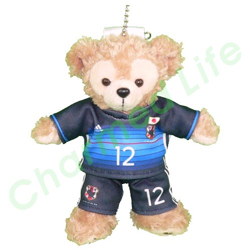 ダッフィー/ぬいバ用 日本代表の2016年ユニフォーム風コスプレ衣装/サッカー ※番号・ネーム指定可