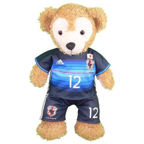 ダッフィー/S用 日本代表2016年のユニフォーム風コスプレ衣装/サッカー ※番号・ネーム指定可