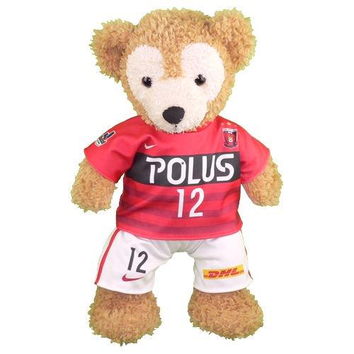 ダッフィー/S用 浦和の2016年チームユニフォーム風コスプレ衣装/サッカー ※番号・ネーム指定可