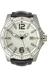 GUESS(ゲス)Guess Steel Croco Leather Men's #W90059G2,