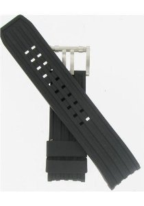 Luminox(ルミノックス)26mm Black Rubber Watchband,