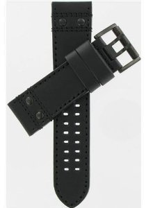 Luminox(ルミノックス)26/24mm Black Leather Strap