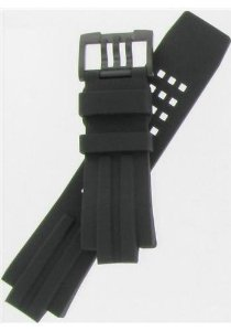 Luminox(ルミノックス)25mm Black Polyurethane Watchband