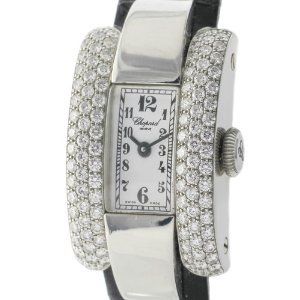 Chopard(ショパード)La Strada 1.75ct Diamond 18K White Gold Quartz Ladies