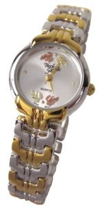Black Hills Gold(ブラックヒルズゴールド)Womens  12k Gold Leaves Brushed Silver Face