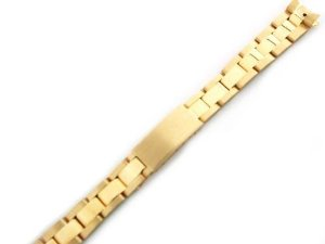 EWP(EWP)Ladies 18ky All Gold Oyster Band for Rolex 13mm