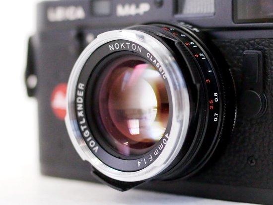 コシナ フォクトレンダー NOKTON classic 40mm F1.4(マルチコーティング/MC:VMマウント)