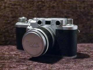 ニッカ 3-F  (キヤノン50mm f 2.8 付)