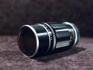 キヤノン 135mm f3.5  (ライカスクリューマウント)