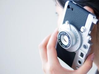 【バルナック型!?カメラ型iPhoneケース】GIZMON iCA5 for iPhone 5 / 5s