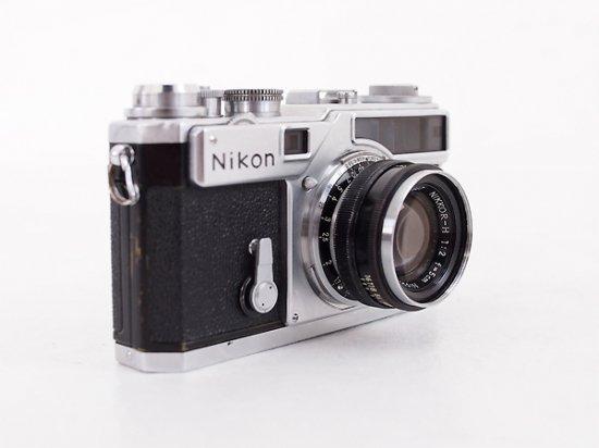 ニコン SP 623万番台 + ニッコール 5cm F2 760万番台 (黒鏡胴)
